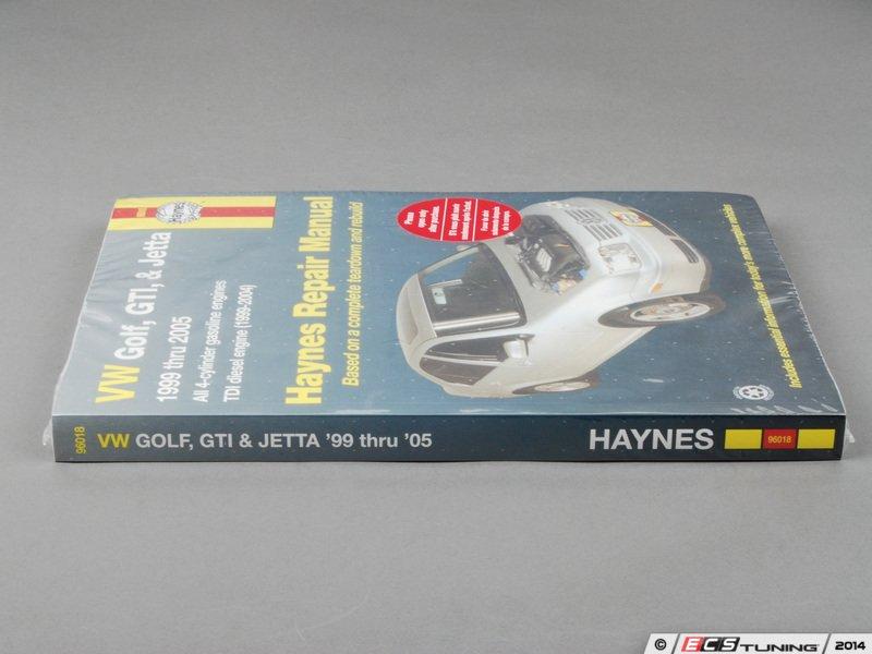 ecs news haynes repair manual vw mkiv golf jetta 4 cyl models rh ecstuning com Volkswagen Jetta Gli 2012 VW Jetta Service Manual