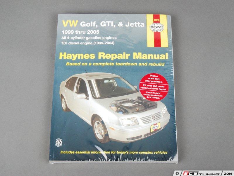 Haynes 96018 haynes repair manual vw mkiv golfjetta es2713471 96018 haynes repair manual vw mkiv golfjetta sciox Gallery