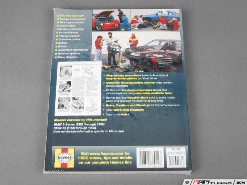 bmw 3 series e36 service manual