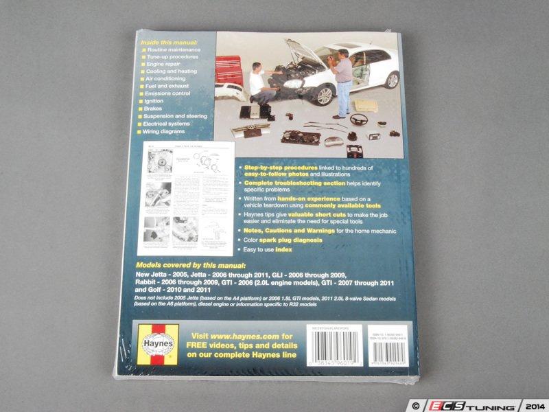 ecs news vw mkv jetta 2 0t haynes repair manual. Black Bedroom Furniture Sets. Home Design Ideas