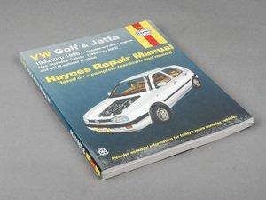 ES#2713470 - 96017 - Haynes Repair Manual - VW MKIII Golf/Jetta - Based on a complete teardown and rebuild - Haynes - Volkswagen