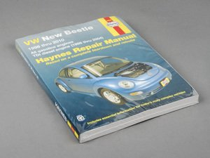 ES#2713469 - 96009 - Haynes Repair Manual - VW New Beetle - Based on a complete teardown and rebuild - Haynes - Volkswagen
