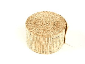 "ES#261419 - 010106 - Tan Exhaust Wrap - 2"" X 15ft - Increase power by containing exhaust heat - DEI - Audi BMW Volkswagen Mercedes Benz MINI Porsche"