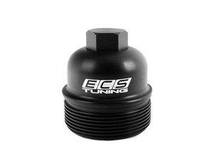 ES#2635805 - 003270ECS01A - Billet Aluminum Oil Filter Housing Cap - Upgrade your weak plastic V8 4.2/V10 5.2 FSI oil filter cap - ECS - Audi
