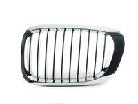 ES#2710046 - 51138208683 - Kidney Grille - Left - Chrome outer design with black slats - URO - BMW