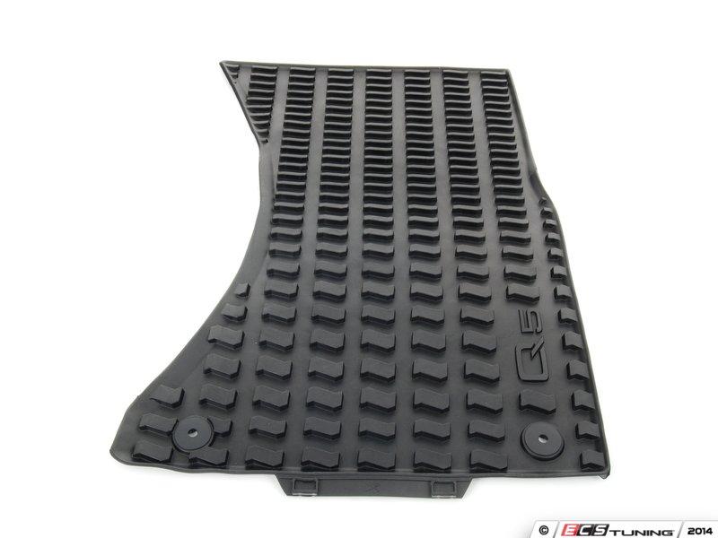 ECS News - Genuine Audi All Weather Floor Mats - Audi Q5 SQ5