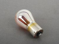 ES#2587895 - 63217160897 - Single Filament Bulb - Priced Each - Yellow flash with silver finish - Philips - BMW MINI