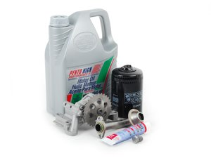 ES#2718938 - 06A115105BKT - Oil Sludge Repair Kit - Replace your clogged pickup tube and oil pump - Assembled By ECS - Audi Volkswagen