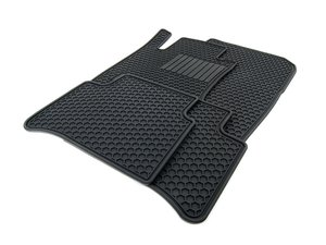 ES#1827975 - Q6680668 - All-Season Floor Mats - Set Of Four - Black - Genuine Mercedes Benz - Mercedes Benz
