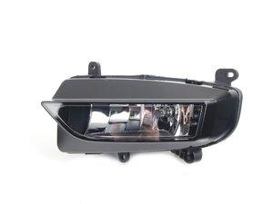 ES#2607097 - 8K0941700C - Fog Light Assembly - Right Side - Lower bumper fog lamp assembly includes bulb - Genuine Volkswagen Audi - Audi