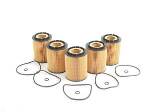 ES#1884323 - 077115562HG5 - Oil Filter - Pack Of 5 - Stock up and save! - Hengst - Volkswagen