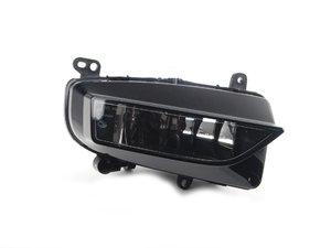 ES#2607095 - 8K0941699C - Fog Light Assembly - Left Side - Lower bumper fog lamp assembly includes bulb - Genuine Volkswagen Audi - Audi