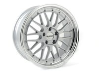 """ES#2719034 - 020-12KT6 - 18"""" Style 020 Wheels - Set Of Four - 18""""x8"""" ET35 5x112 - Silver with Machined Lip - Alzor - Audi Volkswagen"""