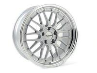 ES#2719050 - 020KT6 - 18 Style 020 Wheels - Set Of Four - 18x9 ET25 / 18x10 ET30 5x100 - Silver with machined lip - Alzor - Audi Volkswagen
