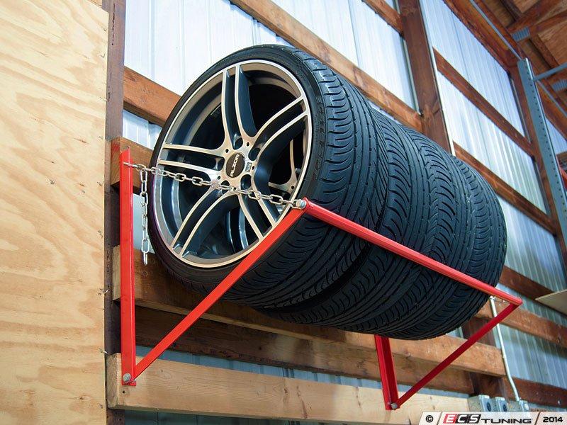 Es 2719305 003638sch01a Wall Mounted Wheel Tire Storage Rack