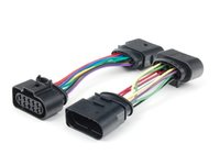 """ES#205041 - 1j0998004 - """"Power Up"""" 10-10 Pin Harness - Pair - ECS tuning 10-10 pin headlight adapters to power up your leveling motors. - ECS - Volkswagen"""