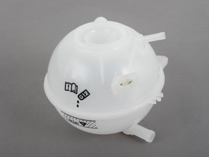 ES#2709358 - 1J0121407F - Coolant Expansion Tank - Clean up your engine bay or replaced your cracked unit with a new coolant expansion tank - URO - Audi Volkswagen