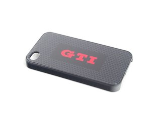 ES#2640955 - DRG017293 - GTI Iphone 4 Cover - Help keep your phone safe in style - Genuine Volkswagen Audi - Volkswagen