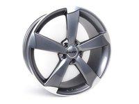 """ES#2724024 - 628-9KT - 19"""" Style 628 Wheels - Set Of Four - 19""""x8.5"""" ET35 66.6CB 5x112 Gunmetal/Machined Face - Alzor - Audi"""