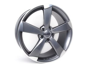 "ES#2608947 - 628-7KT2 - 19"" Style 628 Wheels - Set Of Four - 19""x8.5"" ET45 5x112 - Gunmetal/Machined Face - Alzor - Audi Volkswagen"