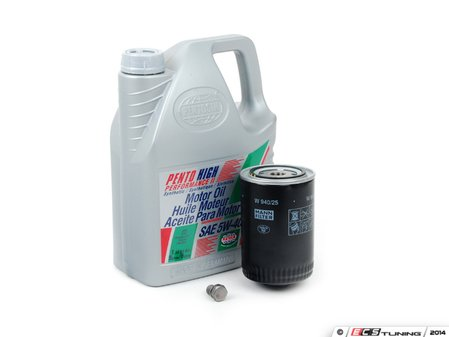 ES#252578 - 0w30lg3kkt - Oil Service Kit - Everything you need to perform an engine oil service (Larger capacity filter) - Assembled By ECS -