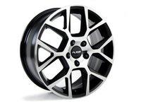 "ES#2710332 - 640-4 - 17"" Style 640 - Priced Each - 17x7, ET45, 5x112, 57.1CB Gloss Black - Alzor -"