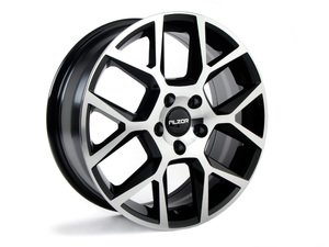 "ES#2722999 - 640-4kt - 17"" Style 640 Wheels - Set Of Four  - 17""x7"" ET45 5x112 - Black/Machined Face - Alzor - Audi Volkswagen"