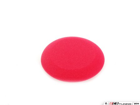 """ES#2619123 - ACC113 - UFO Applicator - Red - 4"""" X 1.25"""" - This versatile foam applicator is great for when precision and control are needed - Chemical Guys - Audi BMW Volkswagen Mercedes Benz MINI Porsche"""