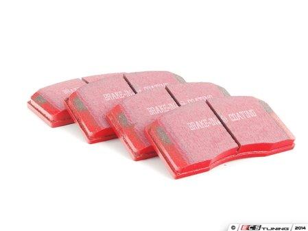 ES#520655 - DP3997C - Front RedStuff Performance Brake Pad Set - A high-performance street pad featuring Kevlar technology - EBC - Audi Volkswagen Porsche