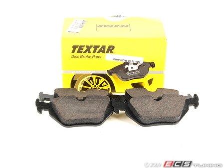 ES#264053 - 34216778168 - Rear Brake Pad Set - Original supplier of brake pads to BMW - Textar - BMW