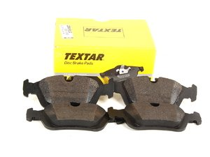 ES#258912 - 34116761244 - Front Brake Pad Set - Original supplier of brake pads to BMW - Textar - BMW
