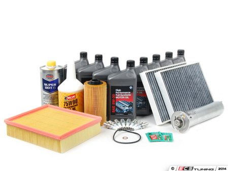 ES#250661 - E39IN2-1 - Inspection II Service Kit - Includes all the parts called to be replaced under Inspection II - Assembled By ECS - BMW
