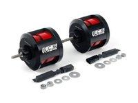 ES#2723849 - 000805ECS05AKT -  Performance Engine Mount Kit - Performance engine mounts to increase drivetrain rigidity - ECS - Audi
