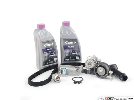 ES#2702954 - 06B109119F - Timing Belt Kit - Ultimate Plus - All the basic parts for a timing belt replacement - Assembled By ECS - Volkswagen