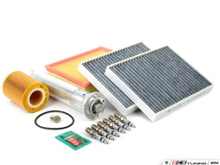 """ES#2723771 - E39M54IN2DKT - """"Dry"""" Inspection II Service Kit - Includes spark plugs and all filters - add your preferred fluids for a complete service - Assembled By ECS - BMW"""