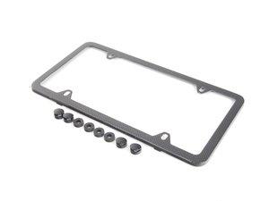ES#2503135 - ZAW071801A - License Plate Frame - Carbon Fiber - Carbon plate frame - Genuine Volkswagen Audi - Audi
