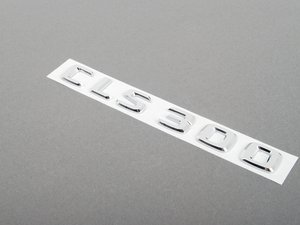 ES#1779575 - 2198171315 - 'CLS 300' Badge - located on the rear lid - Genuine Mercedes Benz - Mercedes Benz
