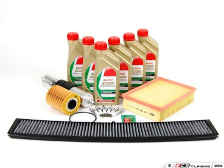 """ES#2580180 - E46M3SV2KT - """"Basic"""" Inspection II Kit - Includes common parts to service your BMW including TWS Edge Professional oil - Assembled By ECS - BMW"""
