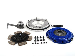 ES#2575788 - SV873-281AKIT - Stage 3 Clutch Kit - Aluminum Flywheel (9lbs) - Good for a blend of street and track driving, up to 500 FT LBS TQ - Spec Clutches - Volkswagen