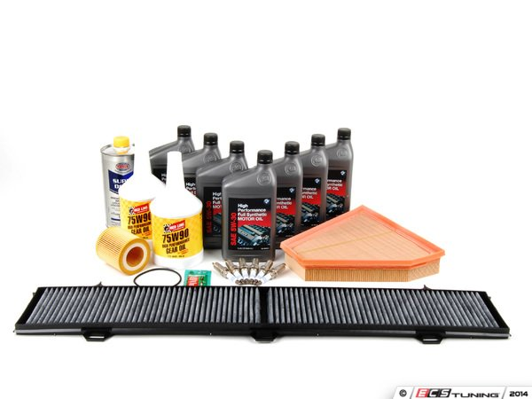 ES#257803 - N52IN2 - Inspection II Service Kit - Includes all parts required to perform your Inspection 2 service. - Assembled By ECS - BMW