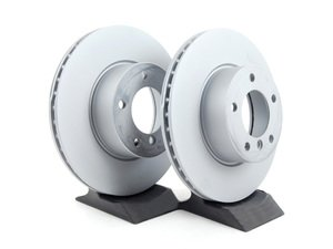 ES#252637 - 34116854998kt3 - Front Brake Rotors - Pair (300x24) - A pair of replacement rotors - Zimmermann - BMW