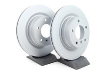 ES#253006 - 34216855007kt1 - Rear Brake Rotors - Pair (300x20) - A pair of quality replacement rotors for your BMW - Zimmermann - BMW