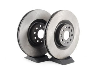 ES#2130367 - 1K0615301MKT2 - Front Brake Rotors - Pair (345x30) - A pair of affordable rotors for customers looking for quality on a budget - OP Parts - Audi Volkswagen