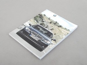 ES#241063 - 01412600318 - E90 Owners Manual - 2009 - For vehicles with out I drive - Genuine BMW - BMW