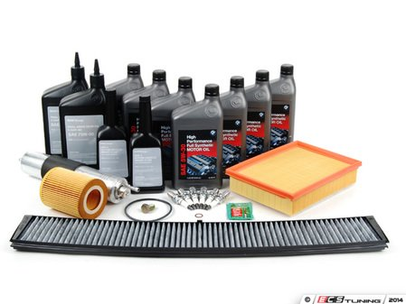 ES#2722902 - E46IN2ENLV - Inspection II Service Kit - Includes all parts required to perform your Inspection II service. - Genuine BMW - BMW