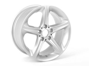"ES#65072 - 36116779803 - 18"" Star Spoke Style 264 Wheel - Priced Each - 18x8.5 ET52 - Genuine BMW - BMW"