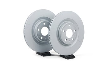"ES#2597382 - 4H0615601HZIMKT - Rear Brake Rotors - Pair (330x22) - Features an Anti-Corrosion coating ""Anti-Z"" - Zimmermann - Audi"