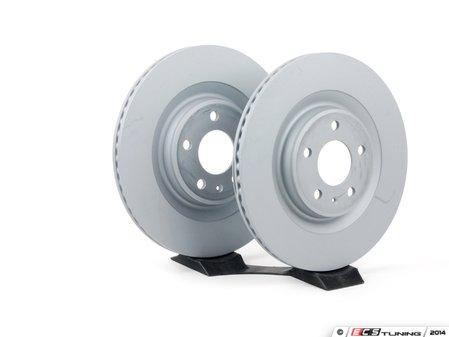"ES#2597382 - 4H0615601HZIMKT - Rear Brake Rotors - Pair (330x22) - Features an Anti-Corrosion coating ""Anti-Z"" - Zimmermann - Audi"