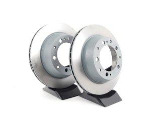 "ES#2538943 - 94435204102KT - Rear Brake Rotors - Pair 11.37"" (289mm) - Rear axle fitment - Both left and right - Sebro - Porsche"
