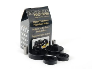 ES#2650961 - PFR5-115Bx2 - Race Polyurethane Rear Shock Top Bushing Set - A firmer feel over stock for better handling chariteristics - Powerflex Black Series - MINI